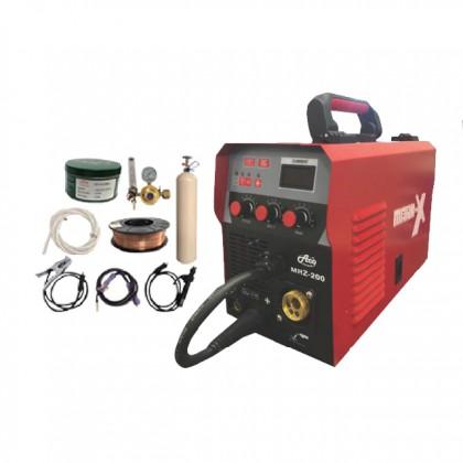 ACO WELDING MACHINE-GAS\GASLESS SET (MKX-WELD-MRZ200)