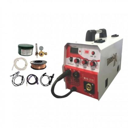 ACO WELDING MACHINE-GAS\GASLESS SET (MKX-WELD-MIG215)